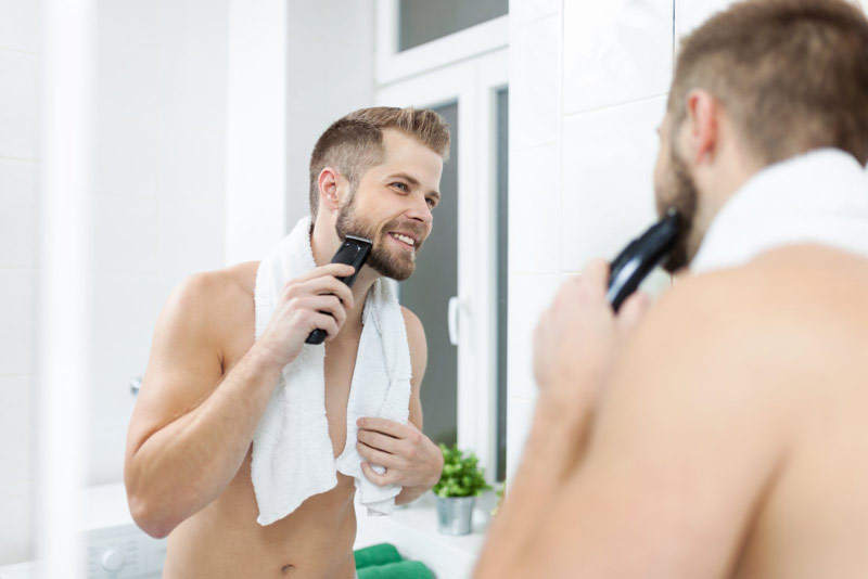 High-Speed Electric Beard Shaver   How To Properly Groom A Beard With The Right Tools