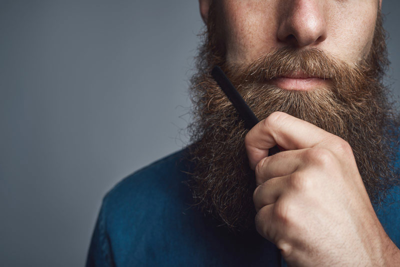 Small Folding Beard Comb   How To Properly Groom A Beard With The Right Tools