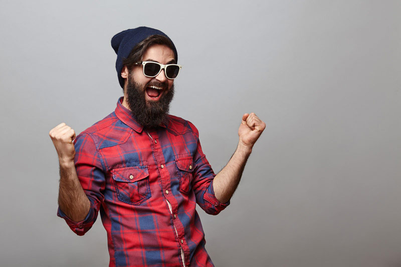 Happy Bearded Man | What Is A Lumbersexual? (It's More Than Just A Thick Beard)