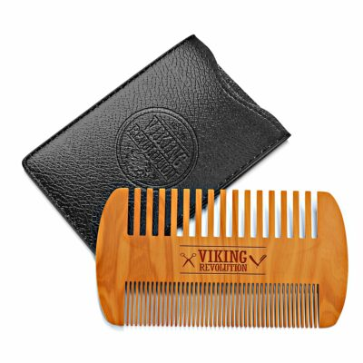 Wooden Beard Comb for Moustache and Beard Grooming